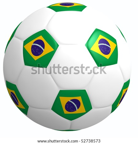 This is to illustrate the football of Brazil