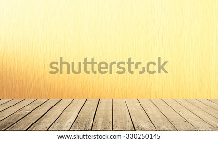 this is Wood and Wood terrace and background texture - stock photo