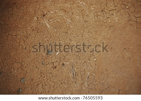 This picture is cray wall from thailand - stock photo