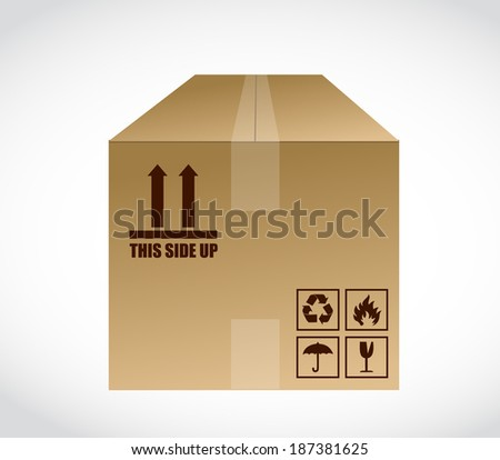 this side up box stock images, royalty-free images & vectors