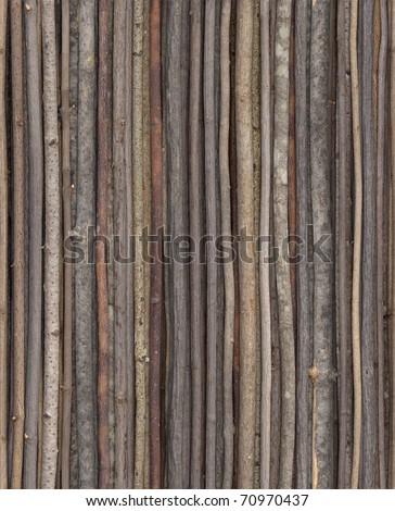 This stick background can be repeated for seamless tiling. - stock photo