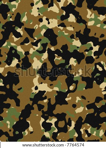 This texture is cold camouflage or khaki colours. - stock photo
