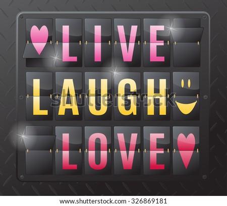 live laugh love 3d - photo #10