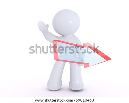 This way please!! - stock photo