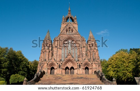 Thomas Coats Memorial Church in Paisley, Scotland. Funded by a textile industrialist. Generations of stonemasons served their apprenticeships on its construction.