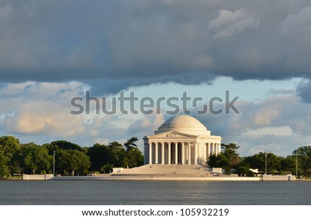 Thomas Jefferson Memorial - Washington DC United States