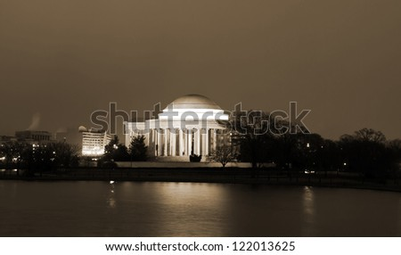 Thomas Jefferson Memorial, Washington DC United States