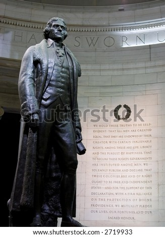 Thomas Jefferson Statue