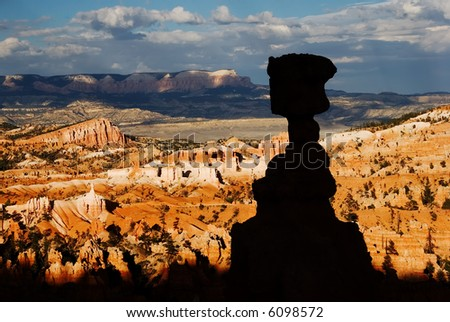 Thor's Hammer, Bryce Canyon National Park - stock photo