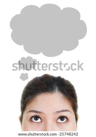 Thought - stock photo