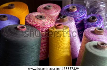 Thread - stock photo