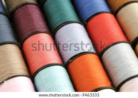 Thread Background - stock photo