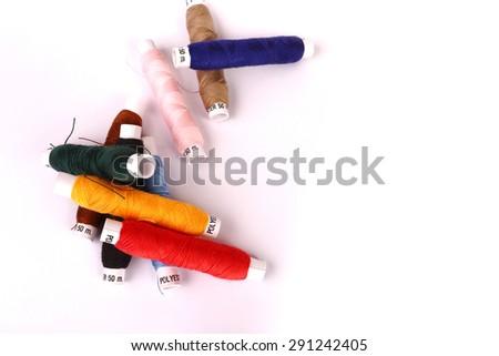 thread full color - stock photo