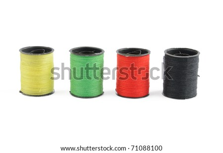 thread isolated on white