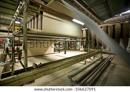 Thread manufacturing plant