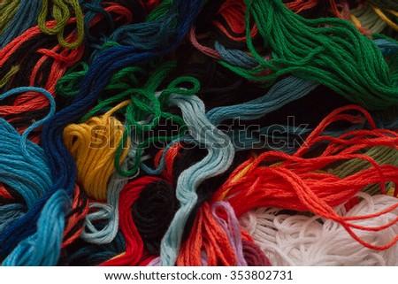 threads - stock photo