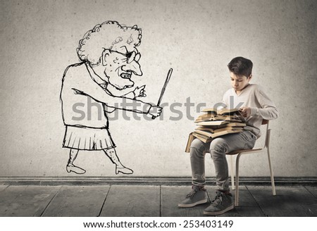 Threats  - stock photo