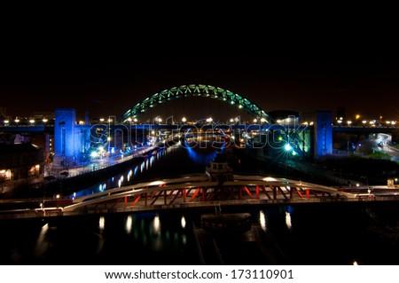 Three Bridges - stock photo