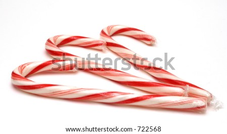 Three Candy Canes