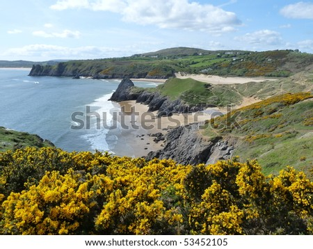 Three Cliffs Gower