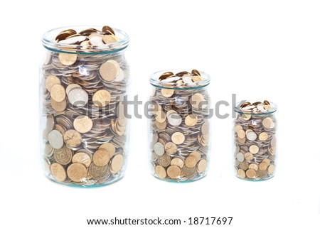 three coins jar