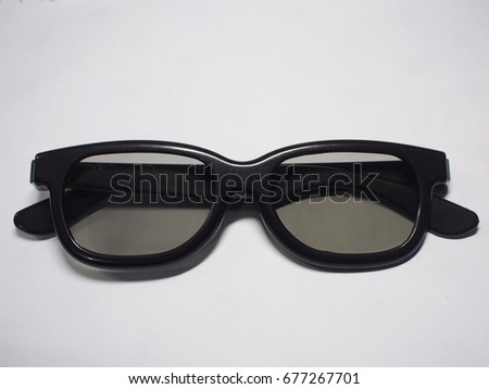 three digital eye glasses