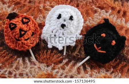 Three Halloween Crochet Treats