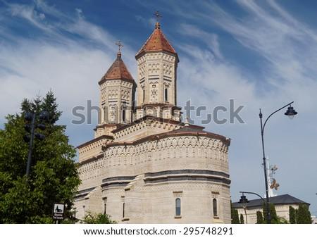 Three Hierarchs Church in Iasi, Romania    - stock photo