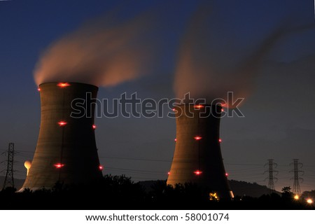Three Mile Island, Unit 1, Pennsylvania - stock photo
