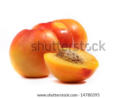 Three peaches in a number and half