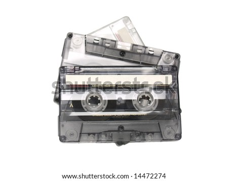 Three recordable audio tapes.