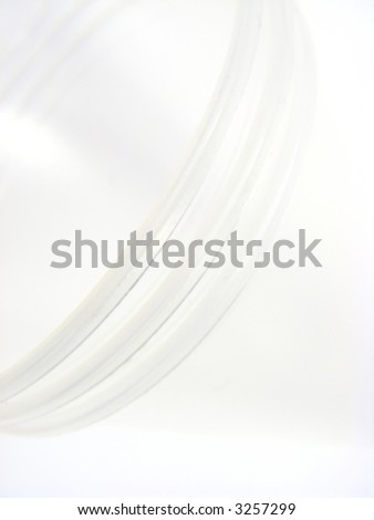 Three rings, abstraction, background. - stock photo