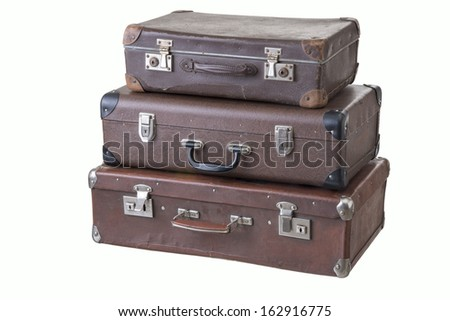 three suitcases Large Medium Small