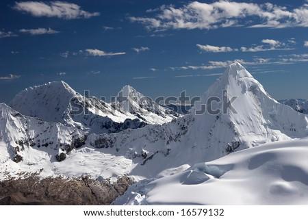 Three summits - stock photo