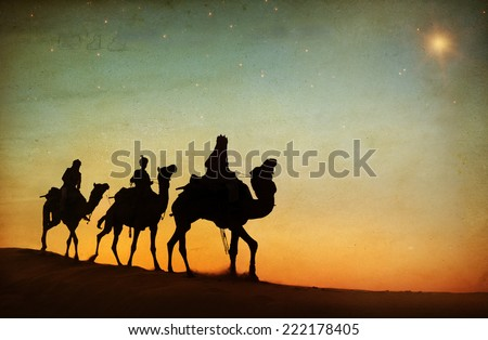 Three Wise Men - stock photo