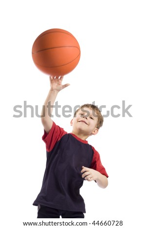 throw ball - stock photo