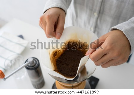 Throwing Away the Used Coffee Ground