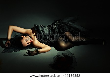thrown bride - stock photo