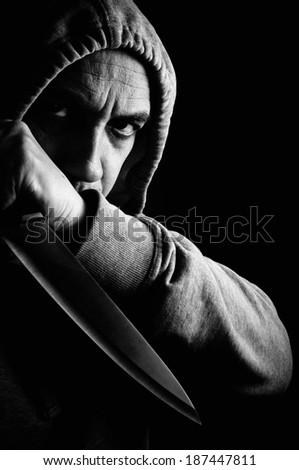 Thug  - stock photo