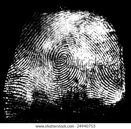Thumbprint - stock photo