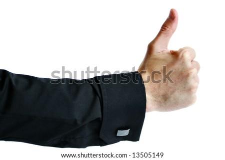 Thumbs up - stock photo