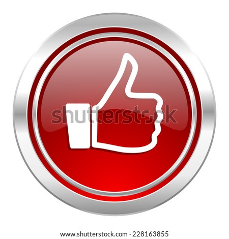 thumbs up icon, thumb up sign