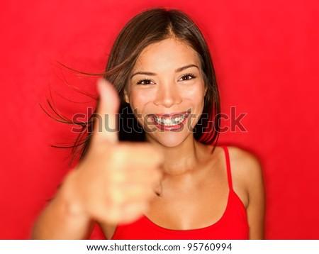 thumbs natural girl