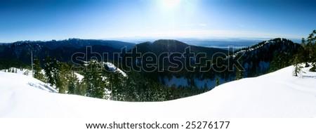 Thunderbird Ridge, Vancouver, Canada - stock photo