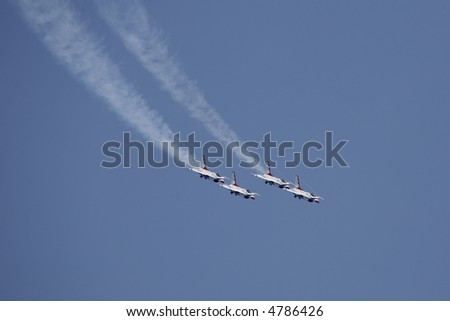 Thunderbirds in Diamond Loop Formation