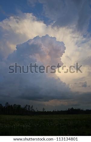 thunderhead - stock photo