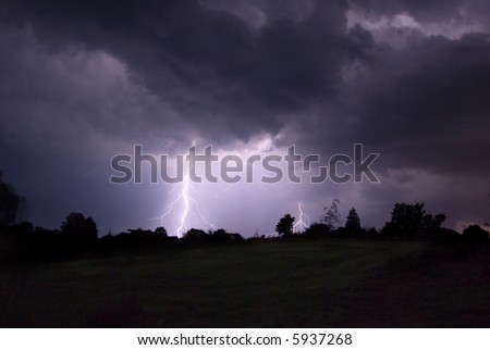 Thunderstorm in Poland - 08.2007