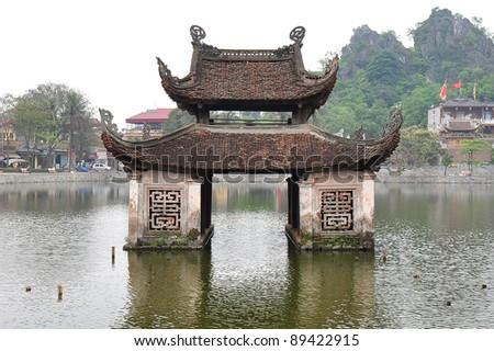 Thuy Dinh - Thay Pagoda, Hanoi - stock photo