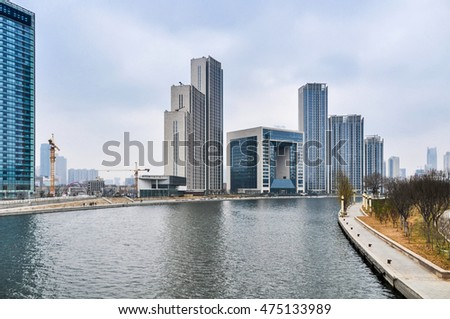 Tianjin Haihe River Business District