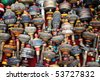 Tibetan prayer wheels - stock photo